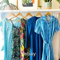 Vintage Wholesale Dresses x 30 Mixed Grade 70s 80s 90s Depop Dress Job Lot