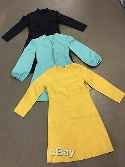 Vintage wholesale 50s 60s 70s dress mix x 55 mixed grade final lot