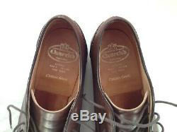 Vtg CHURCH'S Glenshee Shoes UK 8 F Nevada Calf Custom Grade PRADA English Made