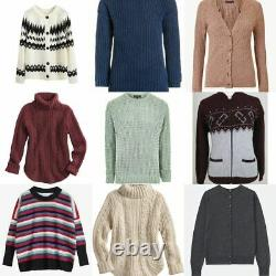 (WA20KNIT) Second Hand Used Clothes 20kg Women's Knitwear A Grade £5.45 per Kg