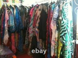 (WB100A) Second Hand Used Clothes 100kg Women's Clothes All Seasons B Grade