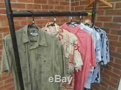 WHOLESALE VINTAGE 45 Abstract style 80/90/00s short sleeve shirts Grade A