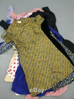 WHOLESALE VINTAGE 50'S 60'S 70'S DRESS clearance mixed grade X 130