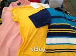 Wholesale 55kg bail of Men's summer clothes all grade A, shirts, shorts, & more