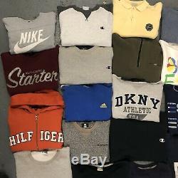 Wholesale Branded Vintage Sweatshirts Grade A Tommy Hilfiger Polo Sport Nike 32