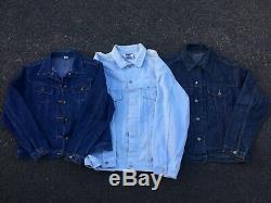 Wholesale Job Lot 20 Grade A Vintage Denim Jackets