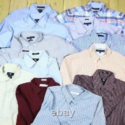 Wholesale Job Lot Branded Shirts Tommy, Lacoste, Levis, Nautica etc X48 Grade A