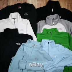 Wholesale Job Lot Mens Womens The North Face Branded Vintage Fleeces X47 Grade A