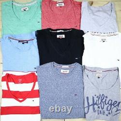 Wholesale Job Lot Mens Womens Tommy Hilfiger Vintage T-Shirts Tops X24 Grade A