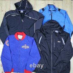 Wholesale Job Lot Mens Womens Vintage Branded Jackets X19 Grade A