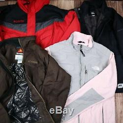 Wholesale Job Lot Mens Womens Vintage Branded Winter Jackets Tops X13 Grade A