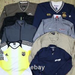 Wholesale Job Lot Nike Adidas Champion etc Vintage Shell Jackets X31 Grade B&C