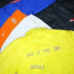 Wholesale Job Lot Nike Adidas Reebok etc Vintage Shell Jackets X27 Grade A