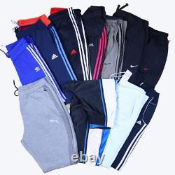 Wholesale Job Lot Vintage Branded Joggers Nike, Adidas, Puma etc X34 Grade A