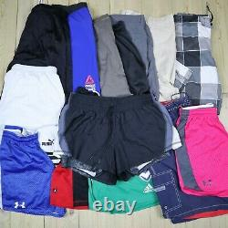 Wholesale Job Lot Vintage Branded Sport Shorts Nike, Adidas etc X72 Grade A