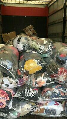 Wholesale Job lot 50 Baby Kids Teens 0 to 16 years Grade A USED CLOTHING ITEMS