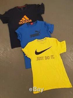 Wholesale Sport Branded Tshirt X 240 Mixed Grade Adidas Puma Nike