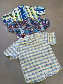 Wholesale Vintage Retro Pattern Shirt Mixed Grade X 100 Clearance Price