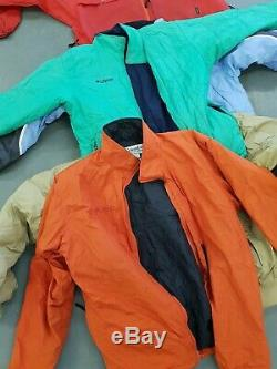 Wholesale job lot branded jackets mainly colombia mixed grade x 100