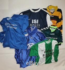 Wholesale lot 100 X used football / soccer shirts jerseys, A/B Grade JOBLOT