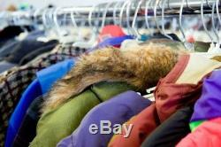 Winter clothes for men & ladies all used grade A Coats, jumpers, Trousers & more