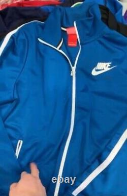 X100 Wholesale A Grade Branded Track Jackets Adidas Nike Reebok Fred Perry Fila