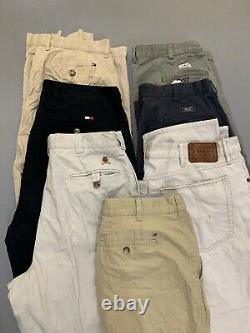 X100 Wholesale Bundle A Grade Branded Chino trousers Ralph lauren Tommy Hilfiger
