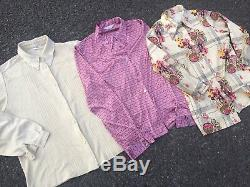 X100 Womens Vintage Blouses Wholesale Joblot Grade A