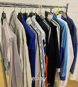 X25 Wholesale Vintage Branded GRADE C / D Mix Jackets Coats Tees Bottoms Jumpers