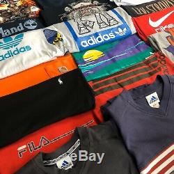 X50 Branded Vintage T Shirts & Polo Tops. Grade A. Ralph, Tommy, Nike, Adidas Etc